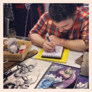 Adam Gorham, Illustrator for Big Sexy Comics