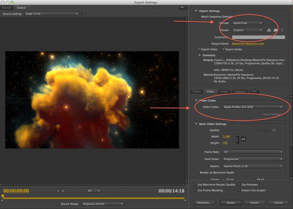Exporting in Premiere Pro | Studio 300 Blog