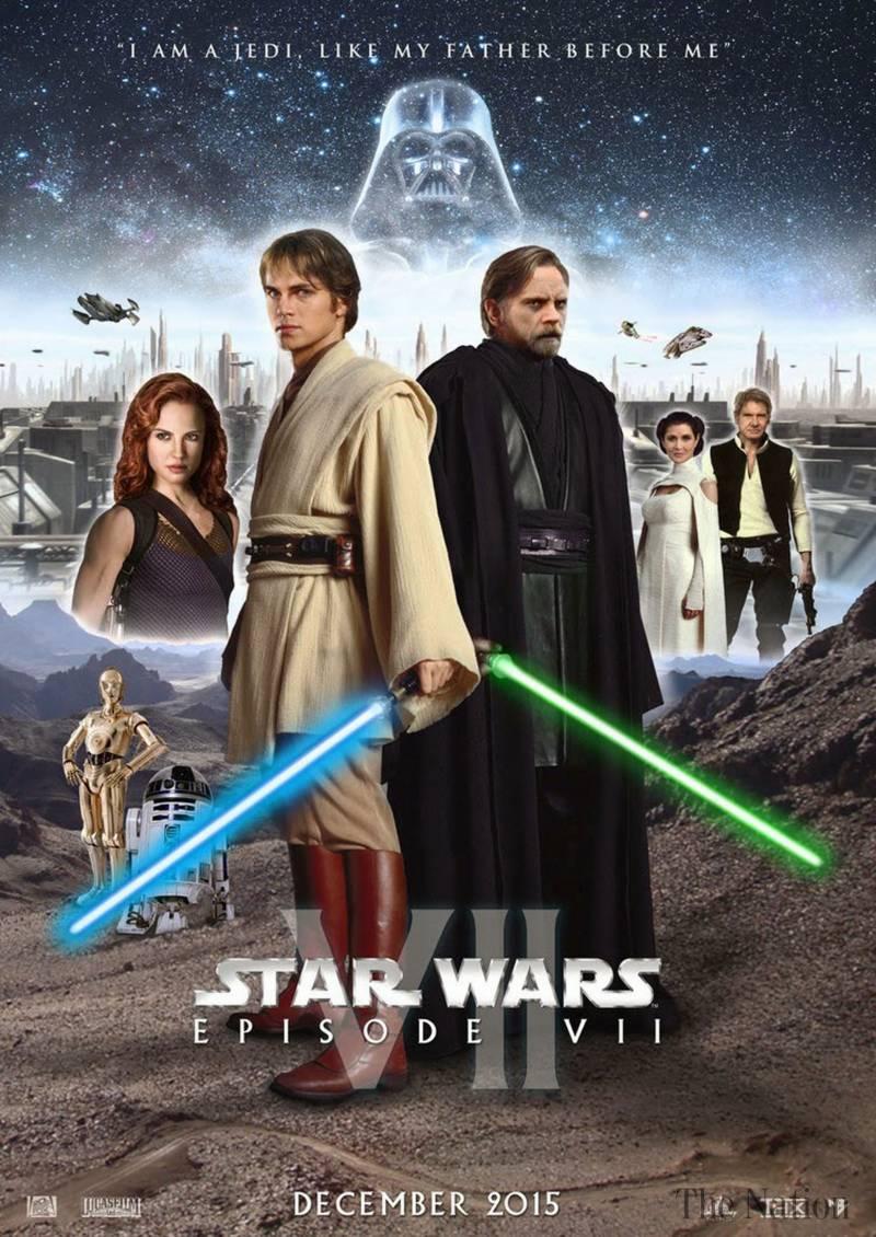 Star Wars Episode 7 Poster